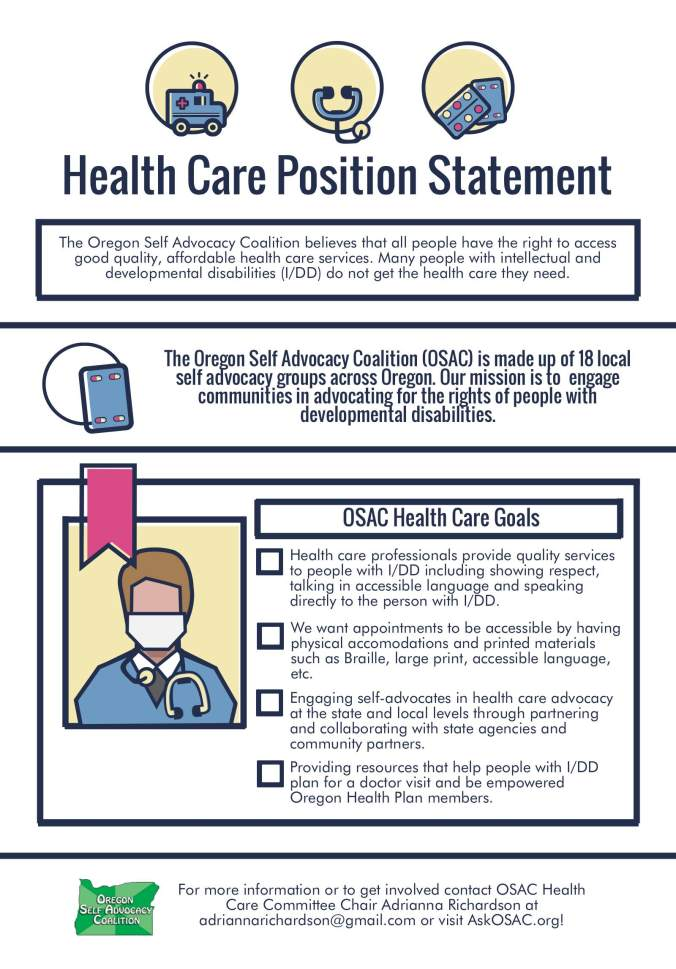 Health Care Position Statement